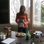 Christine - Secrets of Vegan Baking instructor - gave a presentation on vegan baking ingredients