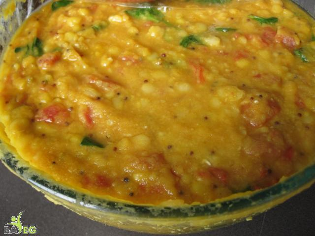 Vegan Food Party:  Spinach Dal