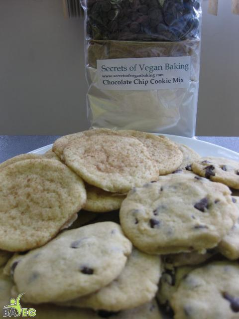Secrets of Vegan Baking cookies and the cookie mix