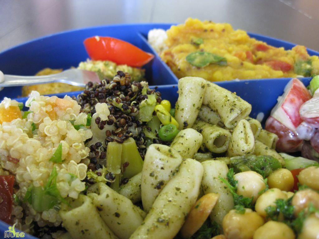 Vegan Food Party: the combination plate