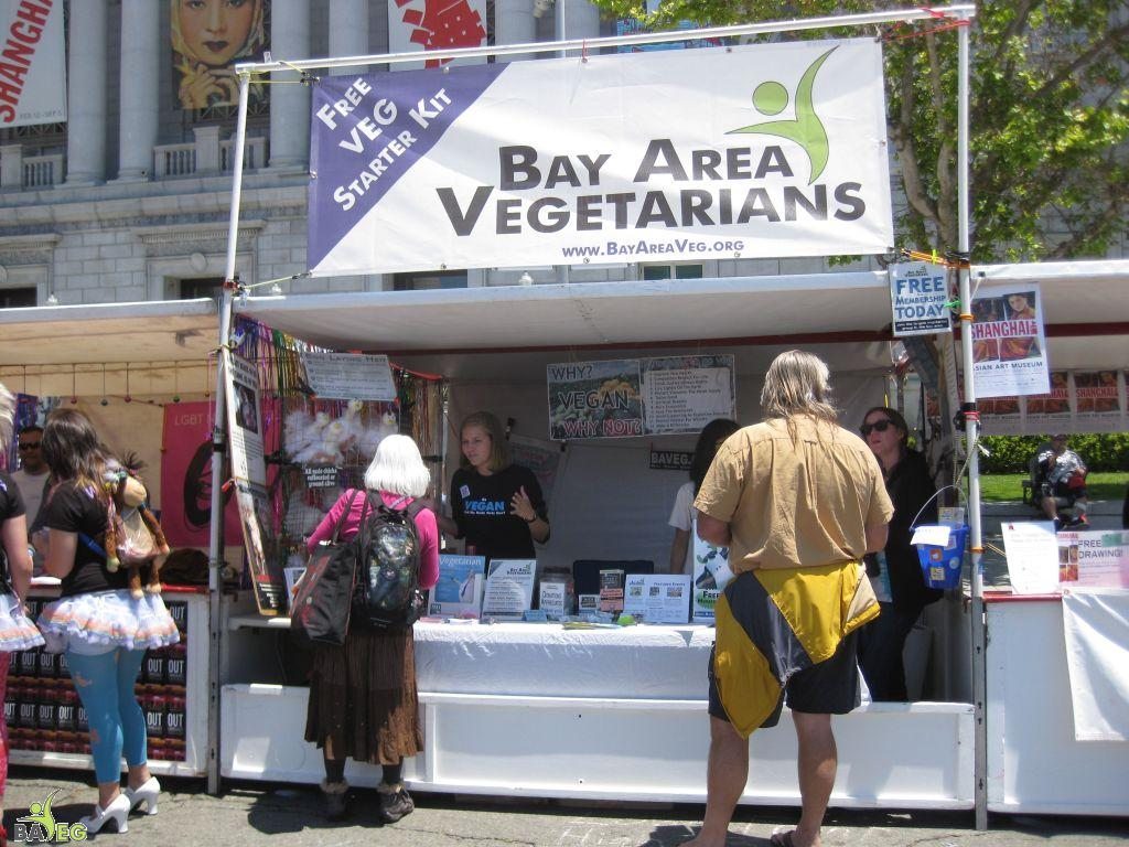 They came for their Free Veg Starter Kit at the BAVeg booth