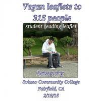Vegan Outreach - Solano Community College - Feb