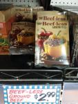 "Meatless ""beef"" used at Trader Joe's in Fairfield"