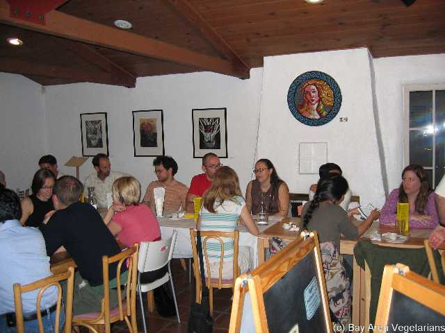 Bay Leaf Dinner - Oct 2004. Full House