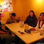 Letter Writing Party - MaggieMudd San Francisco - July 2004.  Held monthly on 3rd Thursday and 3rd Saturday.