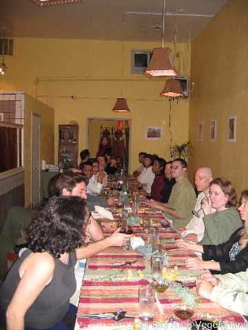 Group of BAV members having dinner at Kaleva.  Join the fun at next BAV monthly dinner -- see event calendar for details.