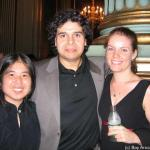Tammy with Rey (the Cookie King) and Lauren from Sun Flour Baking