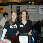 Lovely vegan volunteers from Freedom for Animals, a great local advocacy group.