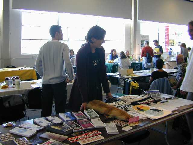 Freedom for Animals table
