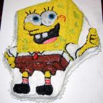 Vegan Sponge Bob Cake made by Christine