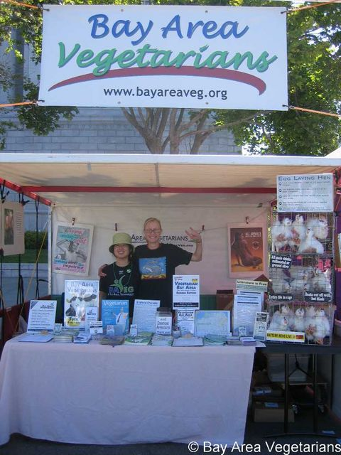 Tammy & Alex, BAVeg Volunteers