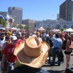 Larkin St - looking the other way at SF LGBT Pride 2007
