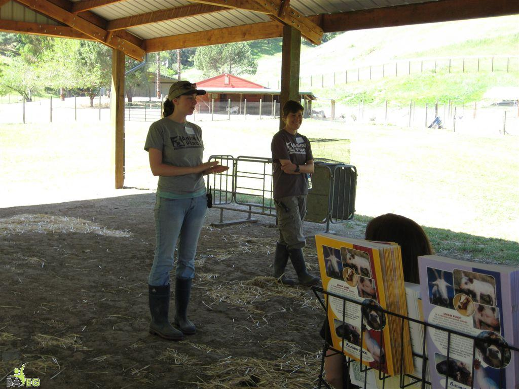 Animal Place Introduction by Marji & Nikki
