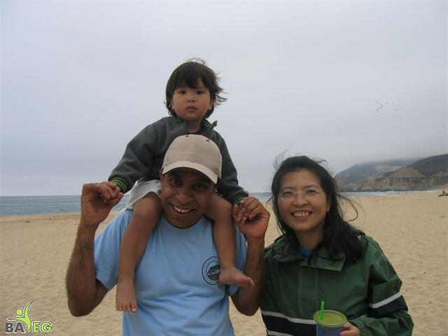 Ravi, Cindy and Cindy's son