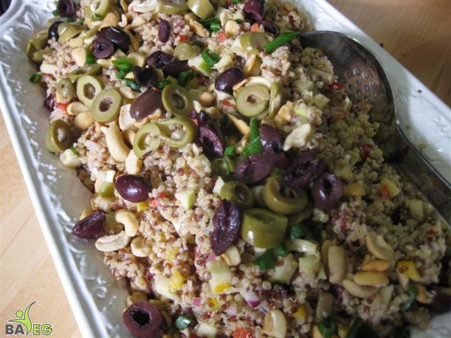 Quinoa Artichoke Salad