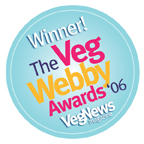 VegNews Webby Award Winner